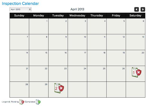 Broker Calendar View