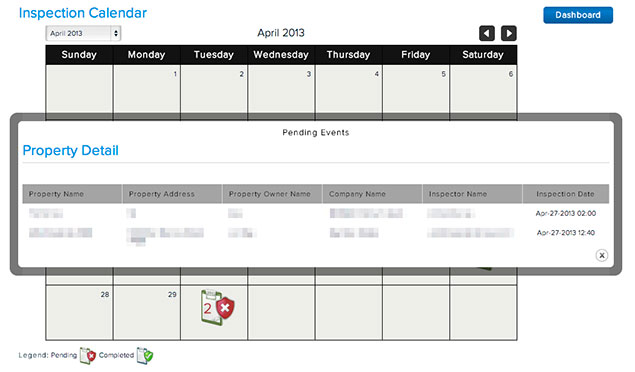 Broker Calendar Overview